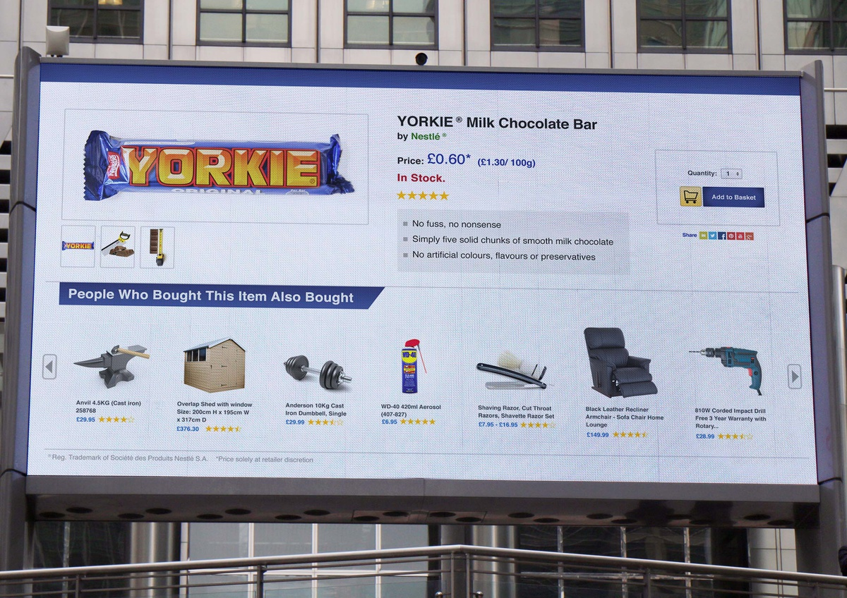 Lürzer's Archive - Print Ad of the Week: Yorkie